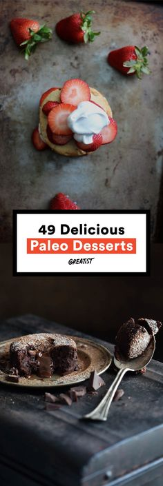 Treats that have you wondering why you ever ate dairy and refined sugar in the first place.  #paleo #desserts http://greatist.com/eat/paleo-dessert-recipes