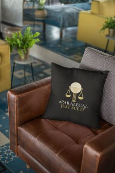 Pillow and Pillowcase included Paralegal, Pillow Cases, Couch, Throw Pillows, Bed, Prints, Furniture, Home Decor, Settee