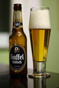 Privatbrauerei Gaffel Becker & Co. Gaffel Kolsch. Smooth and tasty.