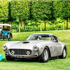 Throughout the early stages of the Jaguar XK-E, the lorry was supposedly planned to be marketed as a grand tourer. Old Sports Cars, Classic Sports Cars, Classic Cars, Dream Cars, Vintage Cars, Antique Cars, Ferrari Car, Hot Cars, Exotic Cars