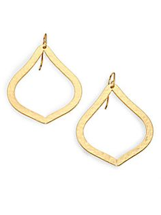 Stephanie Kantis - Marquis Hammered Earrings