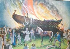 Viking age /Finnish /Boat grave / Karimo