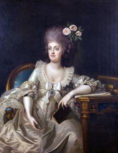 Maria Carolina of Austria, Queen of Naples and Sicily by Camillo Landini, 1787
