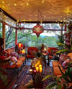 Boho Style Decoration - Boho Style Decoration Bohemian house design, boho design, house for hippie people Bohemian House, Bohemian Living, Bohemian Patio, Boho Gypsy, Bohemian Style Rooms, French Bohemian, Bohemian Clothing, Vintage Bohemian, Outdoor Rooms