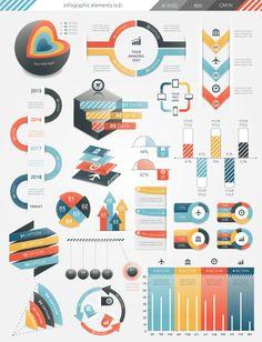 Infographic Elements (v3) on Behance
