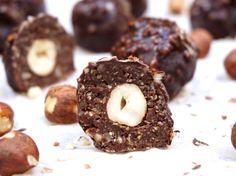 The Tasty K | Hazelnut Chocolate Truffles | http://thetastyk.com