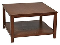 Ave Six MRG12SR1CHY Merge Wood Grain Square End Table 30Inch Cherry >>> Visit the image link more details.