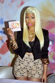 Nicki Minaj promotes new album Roman Reloaded