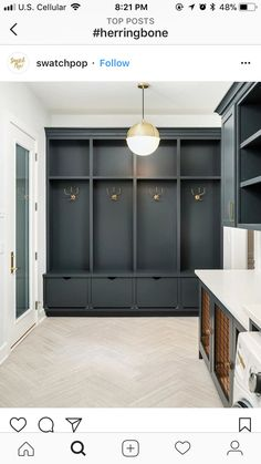 smart mudroom ideas to improve your homeMUDROOM IDEAS - The mudroom is a very important part of your home. With Mudroom you can keep your entire home clean and tidy. Mud room or you Mudroom Cabinets, Mudroom Laundry Room, Laundry Room Design, Mud Room Lockers, Mudroom Cubbies, Mudroom Storage Ideas, Built In Lockers, Mudrooms With Laundry, Hallway Coat Storage