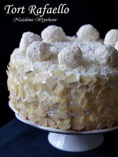 Nastoletnie Wypiekanie: Tort Rafaello Food Cakes, Cupcake Cakes, Cheesecake Cupcakes, Polish Recipes, Cheesecakes, Cake Decorating, Decorating Ideas, Cake Recipes, Cereal