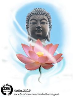 What we think, we become... Buddha lotus design by MoNa :)