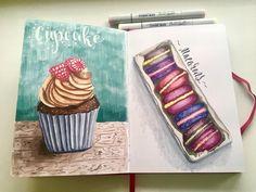 Люблю рисовать сладости Скетчбук #leughtturm1917 #sweet #cupcakes #macarons #art #creative #instaart #artist #illustration #markers #topcreator #art_we_inspire #drawing #sketch #sketchbook #vscodraw #иллюстрация #маркеры #скетч #скетчбук #рисунок #рисую