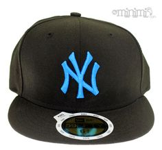 New Era Casquette Enfant NY Yankees - Noir et Bleu #casquette #yankees #noir #bleu #enfant #newera
