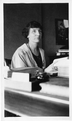 Gay, Hazel.  Head Librarian American Museum of Natural History, NY from 1916-1961.  Smithsonian Institution.