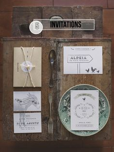wedding invitation ideas | We Heart Home