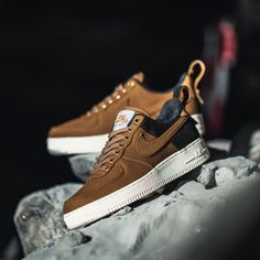 Latest Sneakers, Sneakers Fashion, Nike Shoes, Shoes Sneakers, Footwear Shoes, Baskets, Nike Brown, Shoe Image, Nike Af1