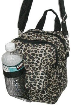 "9.5"" inch small Designer Print Hipster Crossbody Daypack for Children and Adults! (cheetah design) >>> You can get additional details at the image link. We are a participant in the Amazon Services LLC Associates Program, an affiliate advertising program designed to provide a means for us to earn fees by linking to Amazon.com and affiliated sites."