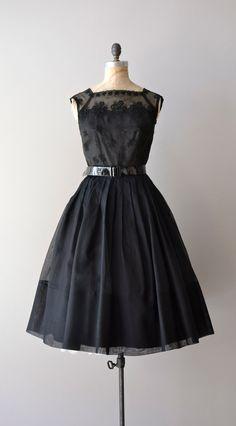 The perfect 50s little black dress, Dear Golden, Etsy.