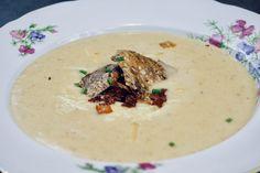 Polévka z pečených brambor Hummus, Ethnic Recipes, Food, Meals