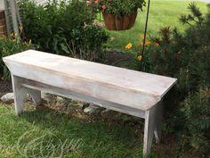 45 Best DIY Outdoor Bench Ideas for Seating in The Garden – HomeBestIdea Garden Bench Plans, Outdoor Garden Bench, Outdoor Decor, Pergola Plans, Pergola Ideas, Outdoor Pergola, Patio, Garden Seating, Pergola Kits
