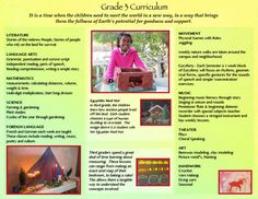 Waldorf Grade 3 Curriculum at The City School.