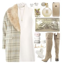 """Winter"" by grozdana-v ❤ liked on Polyvore featuring Thierry Mugler, Chinese Laundry, Chanel, Rifle Paper Co, Estée Lauder, Mikimoto, Kendra Scott, Isotoner, Dorothy Perkins and WinterIsComing"