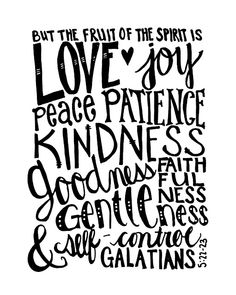 i really need to work at all of these things. God's giving me the strength :)