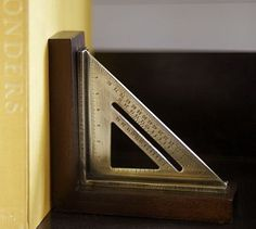 awesome: bookend from speed square