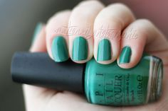 OPI - Jade Is The New Black | Nationail
