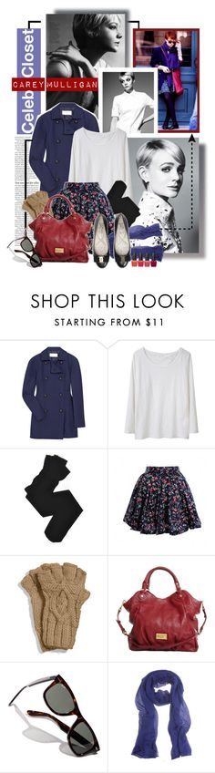 """""""Celeb Closet: Carey Mulligan"""" by tamara-p ❤ liked on Polyvore featuring ASOS, CO, Chloé, Étoile Isabel Marant, Trasparenze, MICHAEL Michael Kors, Marc by Marc Jacobs, Ray-Ban, Agnona and OPI"""