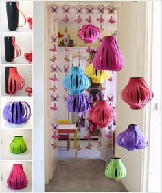 Touch of Oriental Inspiration: 15 DIY Paper Lanterns that Delight!