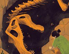 """Confira este projeto do @Behance: """"'Old' Spinosaurus"""" https://www.behance.net/gallery/29386417/Old-Spinosaurus"""