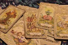Vintage-style tarot deck, via Deck of the Day
