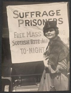 Free Suffrage Prisoners  It didn't happen without sacrifice and determination and time