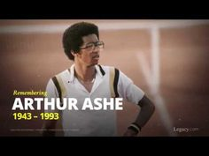 During his tennis career, Arthur Ashe's talent and sportsmanship led him to be the first African-American man to win Wimbledon, the U.S. Open Championship, and the Australian Open, among other achievements. We remember him as a great athlete and trailblazer.