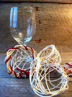 Handwoven wedding favors Amy Dugas StormWeave