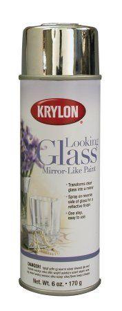 Krylon K09033000 Looking Glass Mirror-Like Aerosol Spray Paint, 6-Ounce - Amazon.com
