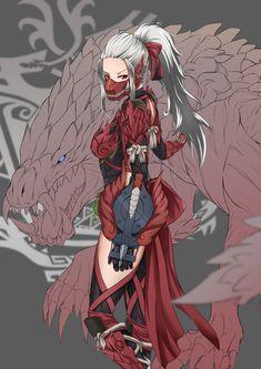 Monster Hunter Series, Monster Hunter Art, Monster Girl, Fantasy Character Design, Character Design Inspiration, Character Art, Fantasy Characters, Female Characters, Female Armor