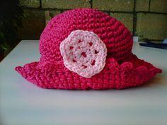 materiales para tejer sombrero de niña - Buscar con Google