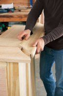 Dry-Fit the Bar Molding