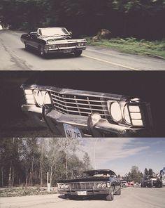 Baby ♥ #Supernatural #Impala #SixtySeven