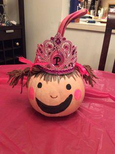 Pinkalicious pumpkin