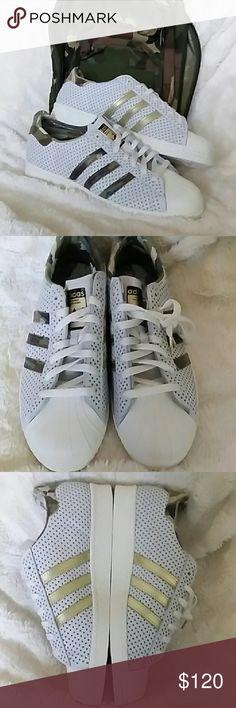 "Adidas superstars ""quickstrike"" Brand new Adidas superstars ""quickstrike"" without a box. Price is firm Adidas Shoes Sneakers"