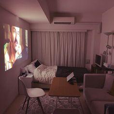 Bedroom Setup, Room Ideas Bedroom, Small Room Bedroom, Cozy Small Bedrooms, Study Room Decor, Small Room Decor, Guest Bedrooms, Teen Bedroom, Small Room Interior