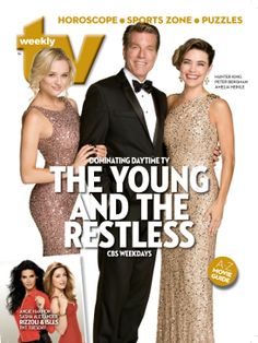 TV Weekly Now   TV Weekly cover: The Young and the Restless cast talk Daytime Emmy noms; plus Twitter chat and more