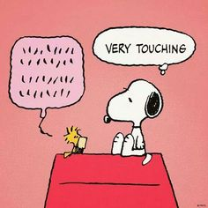 Snoopy..supportive friend