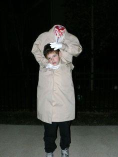 homemade headless horseman costume | Our Headless Son! | Costume Pop