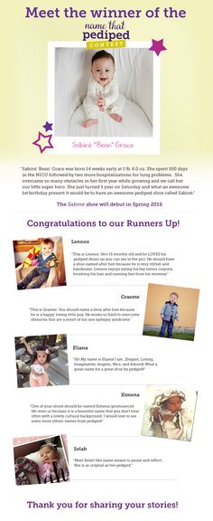 Take a look at the runners up!