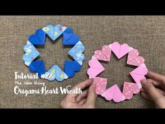 TUTORIAL - How to make a Simple Heart Wreath - YouTube