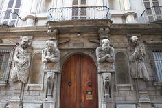 La Casa degli Omenoni, Milano, Italia.